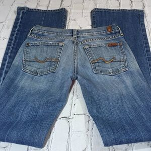 """7 For All Mankind size 24"""" bootcut jeans"""